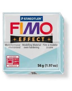 Fimo Effect  306 gemstone ijskristal blauw