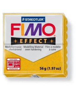 Fimo Effect 112 glitter goud