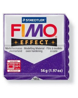 Fimo Effect 602 glitter paars
