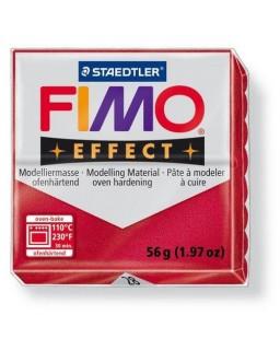 Fimo Effect 28 metallic robijnrood