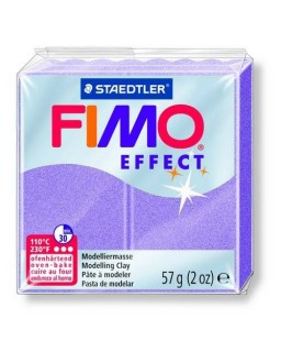 Fimo Effect 607 parelmoer lila