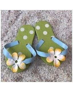 slippers groen
