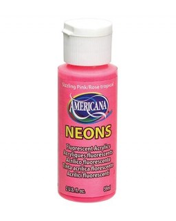 Americana Neons Sizzling Pink