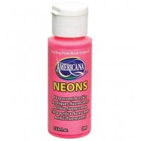 Americana Neons Sizzling Pink