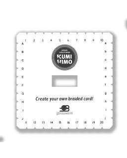 Kumihimo Disc Vierkant