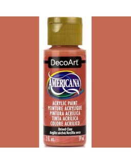 Americana Dried Clay