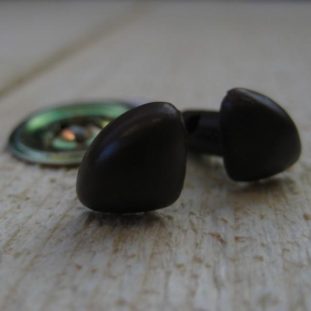 veiligheidsneus bruin 15mm