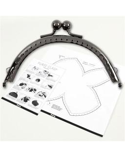 Portemonnee gesp kit 10 cm