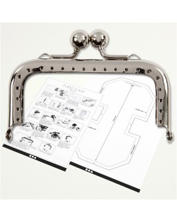 Portemonnee gesp kit 8 cm