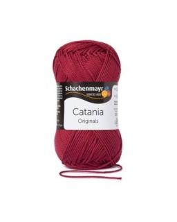 Catania katoen 425 Burgund