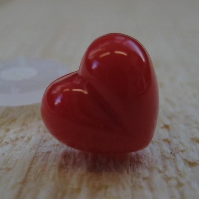 hartenneus rood 18mm