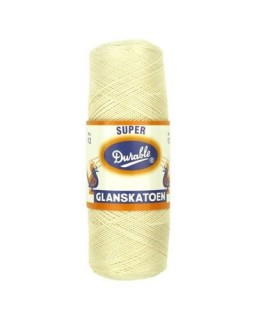 Durable glanskatoen nr 12 creme