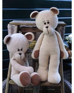 XXL Funny Bear Basic Linnen