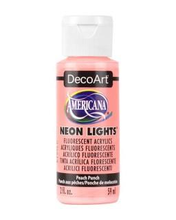 Neon Lights Peach Punch