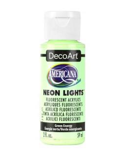 Neon Lights Green Energie