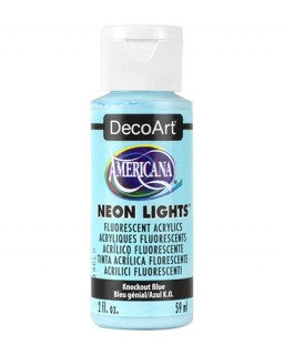 Neon Lights Knockout Blue