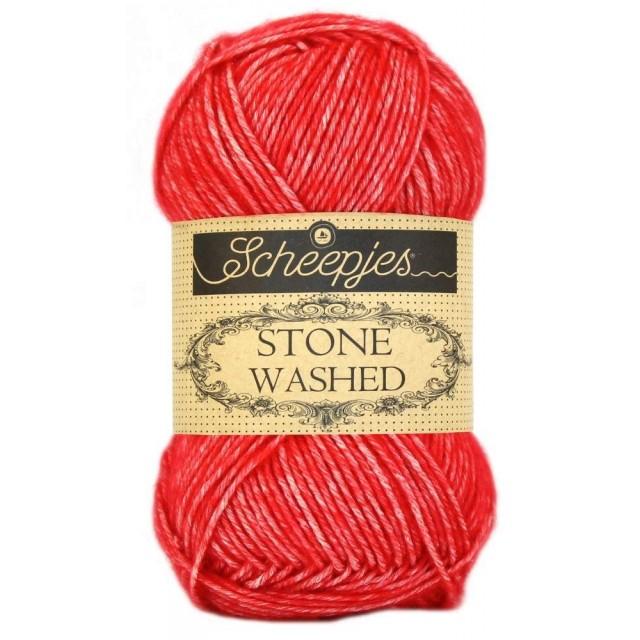 Stonewashed 823 Carnelian