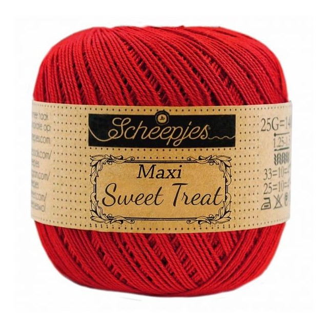 Scheepjes Maxi Sweet Treat 722 Red