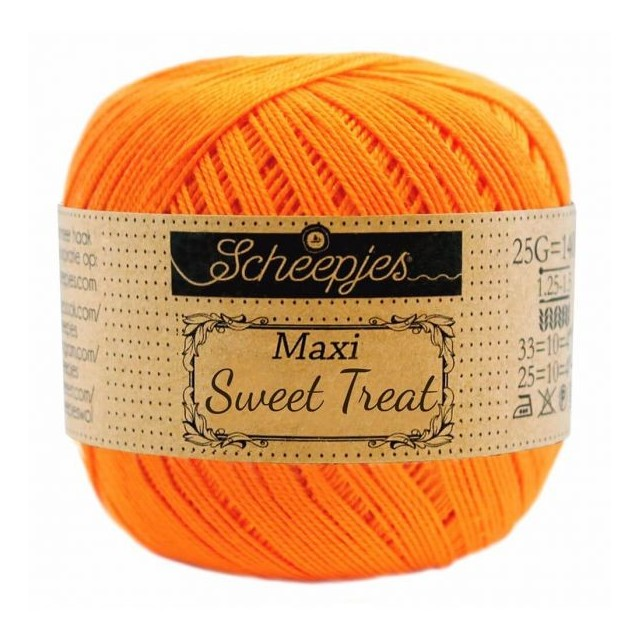 Scheepjes Maxi Sweet Treat 281 Tangerine