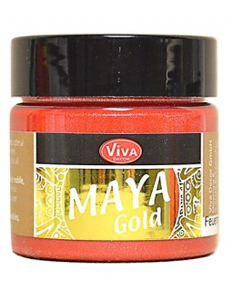 Maya-Gold 45 ml Feuerrot