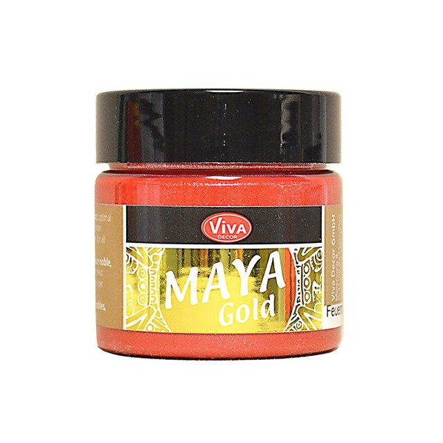 Maya-Gold Feuerrot