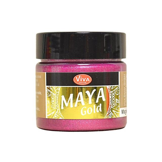 Maya-Gold Magenta