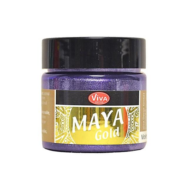 Maya-Gold Violett