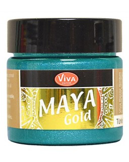 Maya-Gold Turkis