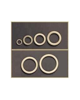houten ring 100x12mm 5st.