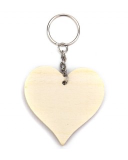 sleutelhanger hart 3st.