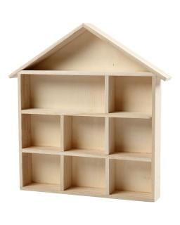 houten letterbakhuisje