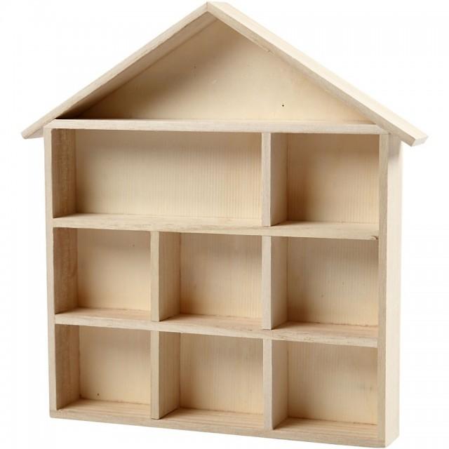 houten letterhuisje