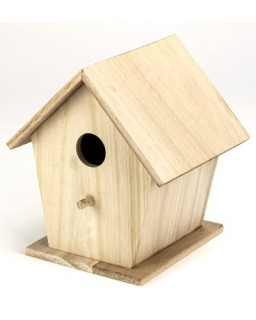 vogelhuisje vierkant