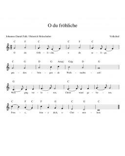 O du Fröhliche
