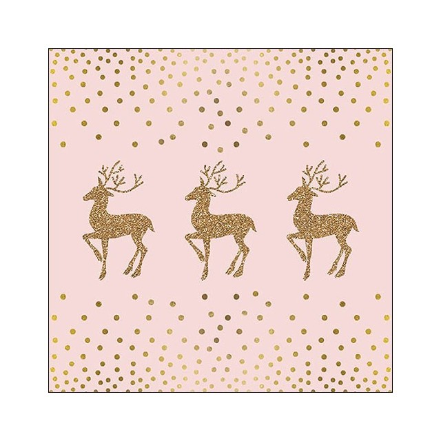 Deer And Dots Rose
