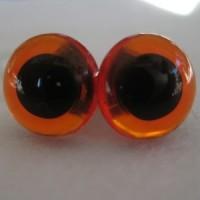 veiligheidsogen 18mm amber
