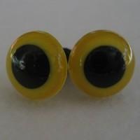 veiligheidsogen 18mm geel