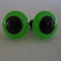 Veiligheidsogen 18mm Groen