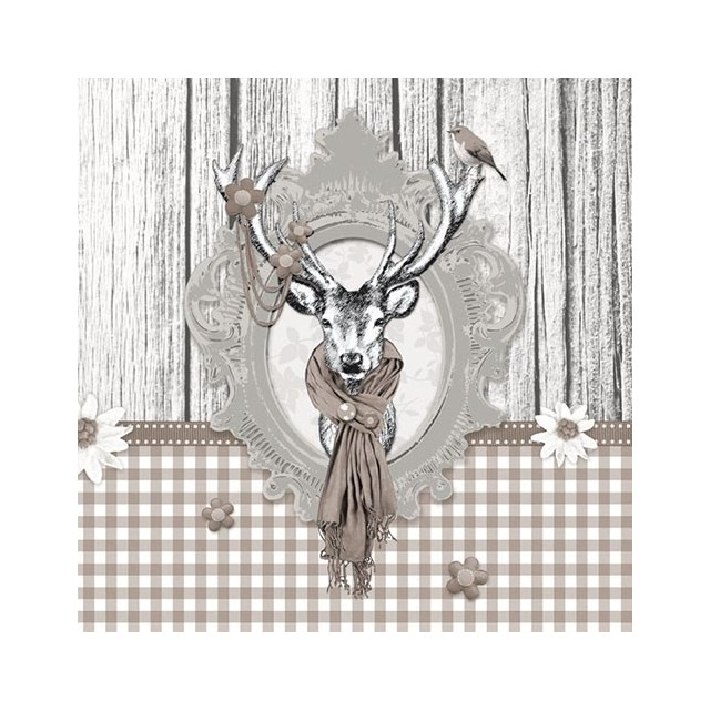 Decorated Deer Taupe