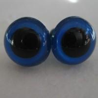veiligheidsogen 24mm blauw