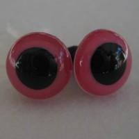 Veiligheidsogen 24mm Pink