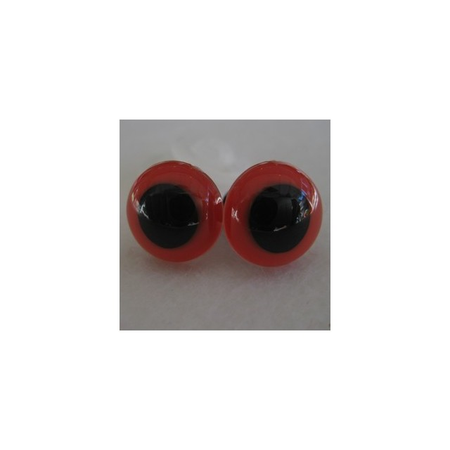 veiligheidsoogjes 24mm rood