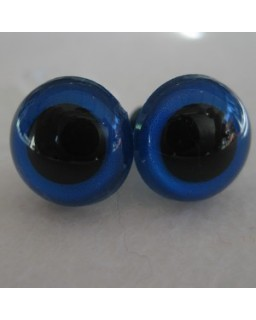 veiligheidsogen 30mm blauw