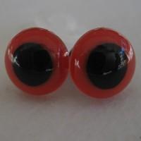 veiligheidsogen 30 mm rood