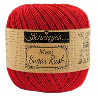 Scheepjes Maxi Sugar Rush 722 Red