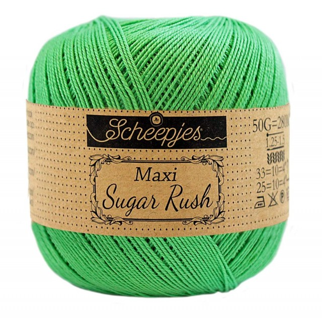 Scheepjes Maxi Sugar Rush 389 Apple Green
