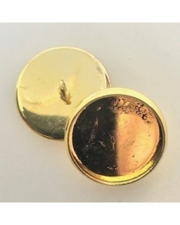 knoopje gold plated