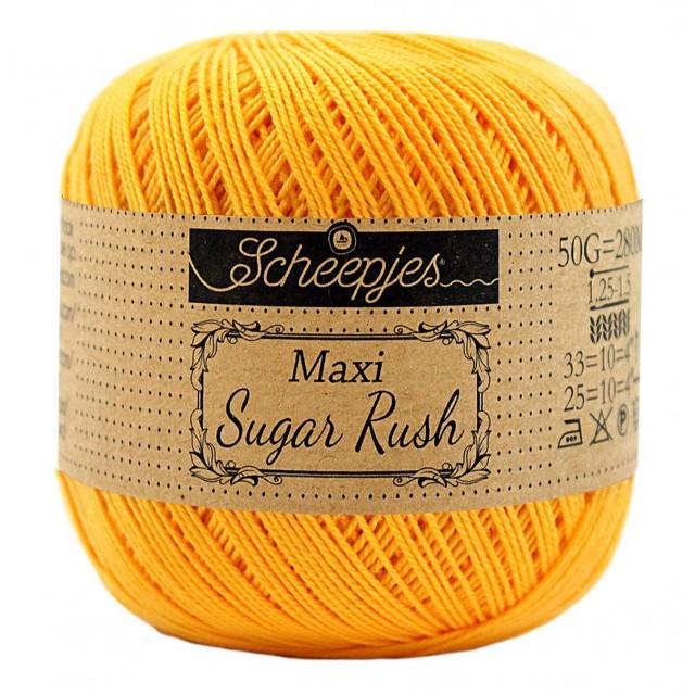 Scheepjes Maxi Sugar Rush 208 Yellow Gold