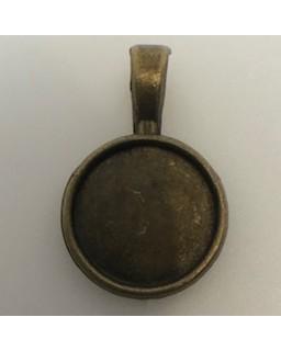 Hangertje 006 bronze 2 st.