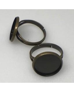ring antique bronze